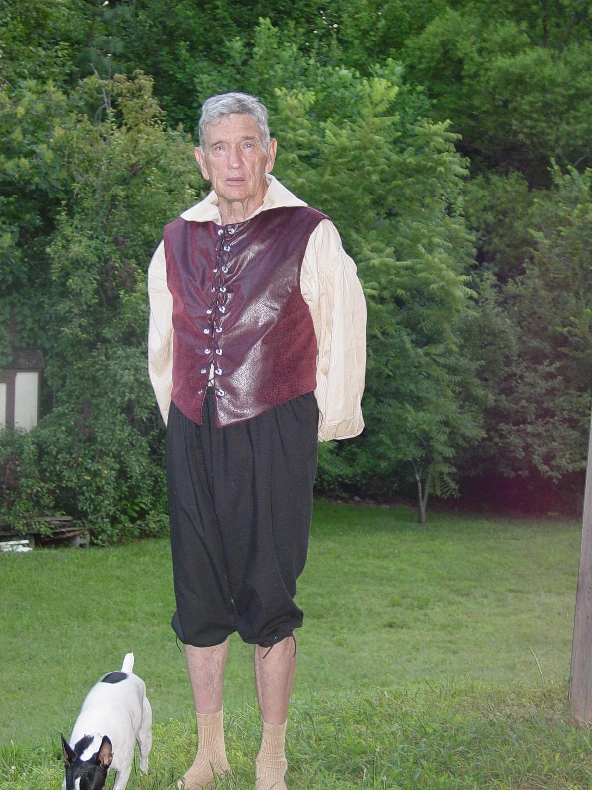Don in Ren Fest Garb - July 2008