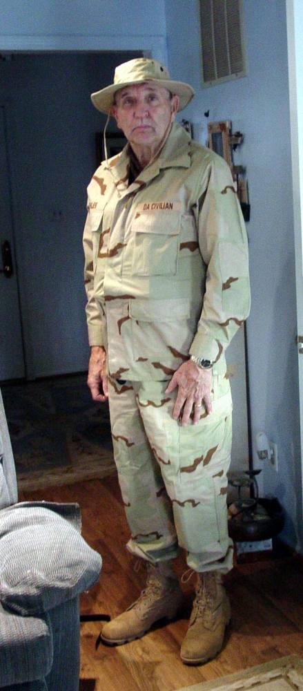 Don heading to Iraq - 2004