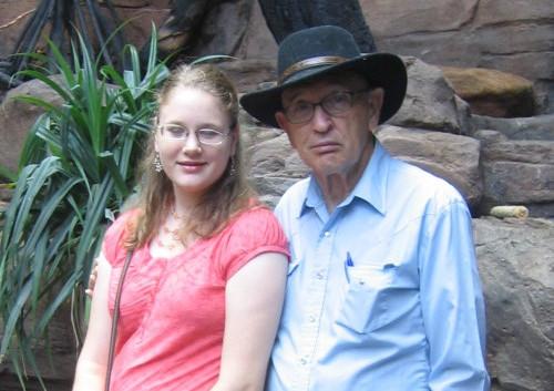 Don and Sarah - Aquarium - July 2006