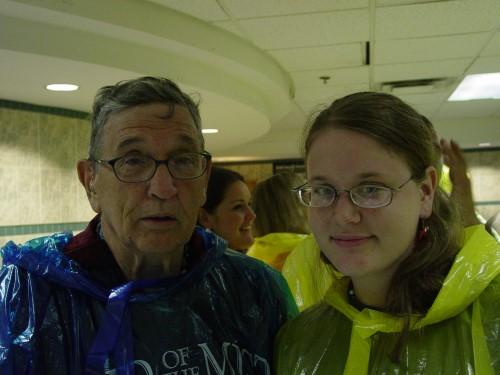 Don and Sarah Behind Falls - July 2006