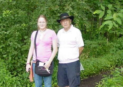 Don and Sarah - Sacred Grove - July 2006