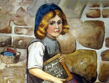 Don's Painting - Dutch School Girl