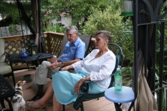 Don and his wife, Gay, relaxing - September 2012