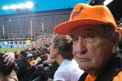 Don at the Baysox game with Ken Green