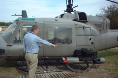 Don and Helicopter - November 2002