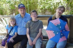 Don with Grandkids - July 2003