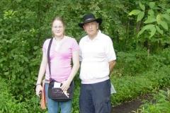 Don and Sarah - Sacred Grove - July 2006